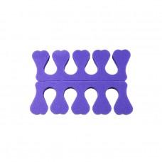 Разделитель для педикюра фиолетовый
