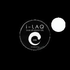 Гель для моделирования ногтей I-LAQ MILK 15 мл.